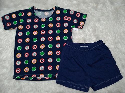 Pijama Avengers (Tamanho 08)