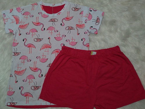 Pijama Flamingos - G