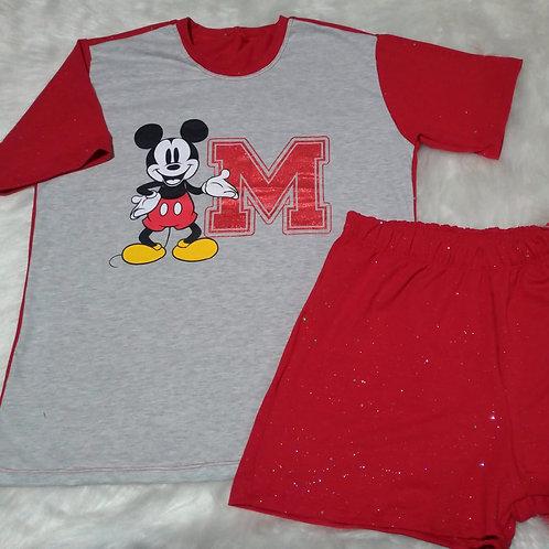 Pijama Mickey/Glitter - G