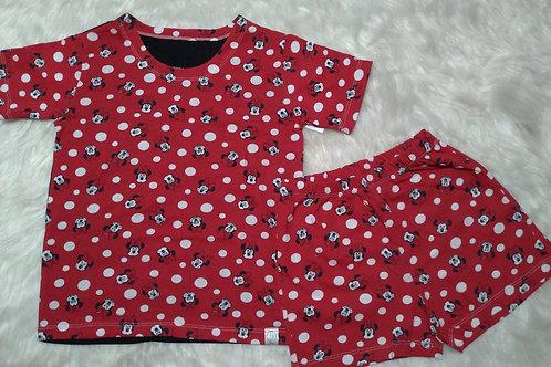 Pijama Minnie (Tamanho 08)