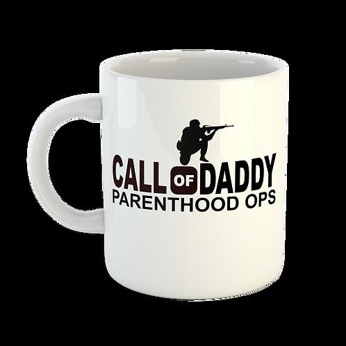 Call of Daddy Parenthood Ops Mug