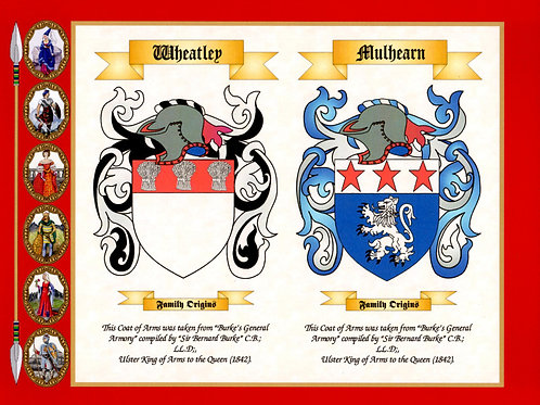 Anniversary Arms / His & Hers, Coat of Arms