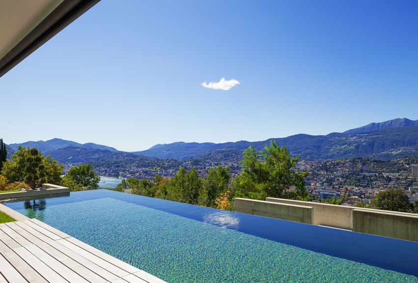 infinity-pool-view-of-town-mountains