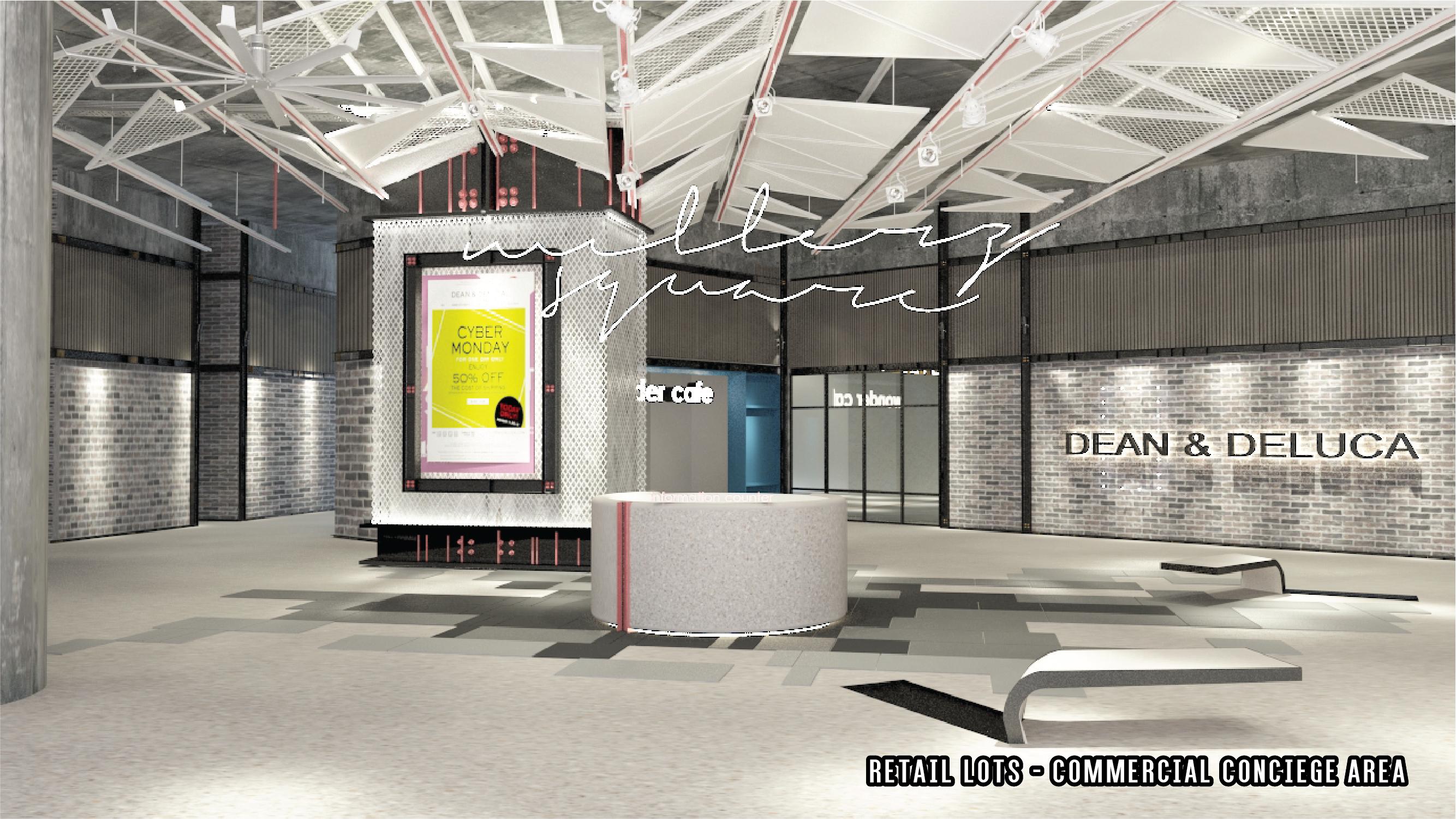 Millerz RetailLots_CommercialConciergeArea