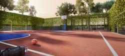 D'Vervain Half Basketball Court