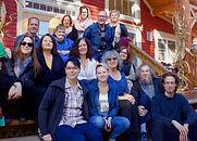 Photo de l'équipe et de nos membres. Lac-à-l'épaule. 2017