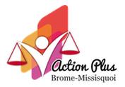 Logo d'action plus brome missisquoi