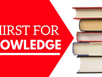 Be an Investor Series (Part 4): Thirst for Knowledge