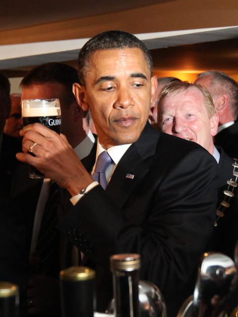 President Obama in Ireland