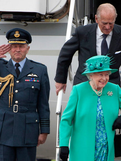 The Queen's in Ireland