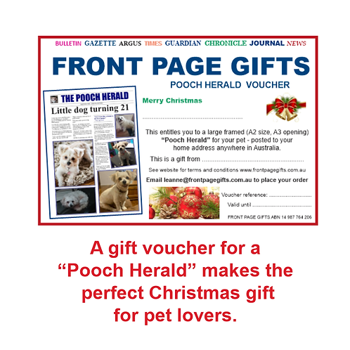 Pooch Herald voucher