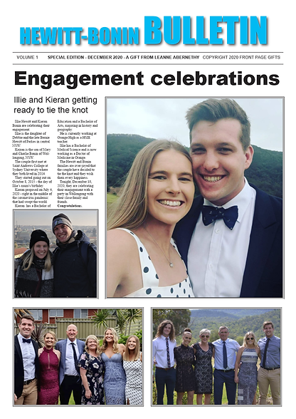 Illie's engagement present-TW ambassador