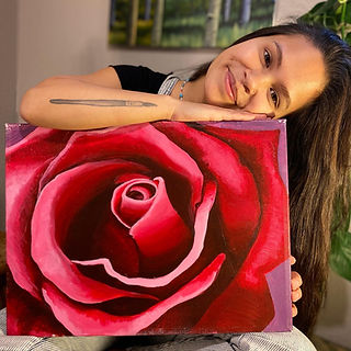 Shannon with rose painting.jpg