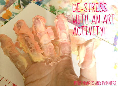 Art Therapy Activities to Help You De-Stress