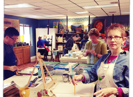 The painting community at MBodied