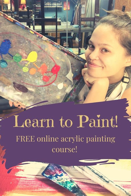 learn to paint with acrylics free course