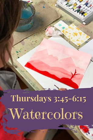 watercolor classes near me