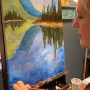 landscape painting class