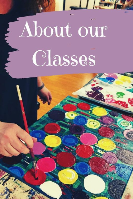 Painting Class & Drawing Class