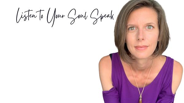 Michelle listen to your soul speak image