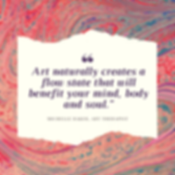 art naturally creates flow benefit mind,