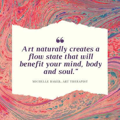 art naturally creates flow benefit mind,