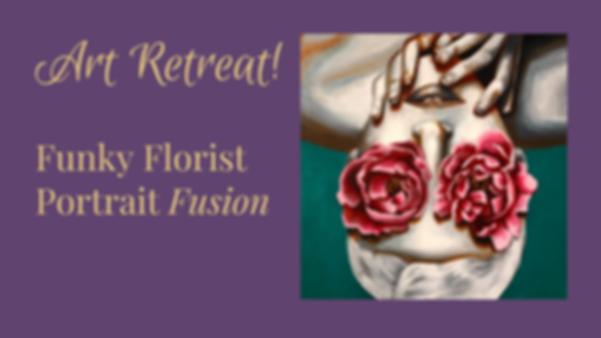 funky florist portrait fusion event cove