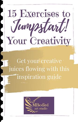 15 Exercises to Jumpstart Creativity boo