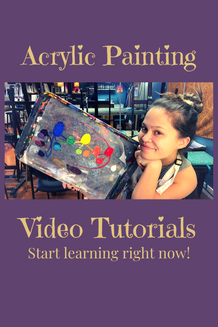 how to paint with acrylics