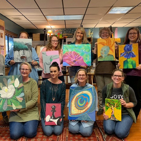 evening art classes near me
