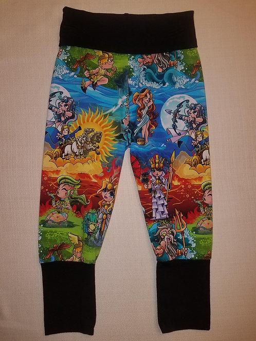 Greek Gods Grow with Me Pants - 12 Mo to 4T