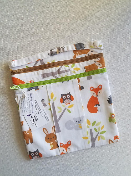 Forest Animals 9x9 Wet/Dry Bag