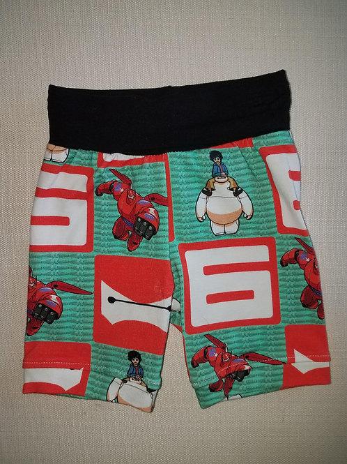 Big Hero 6 Shorts - 3/6 Mo to 18 Mo