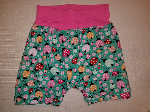 Lady Bugs Shorts - 12 Mo to 4T