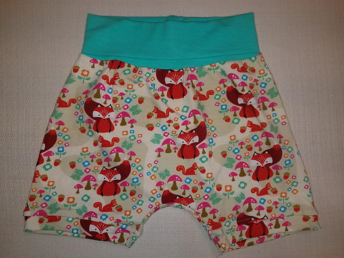 Foxes Shorts - 12 Mo to 4T