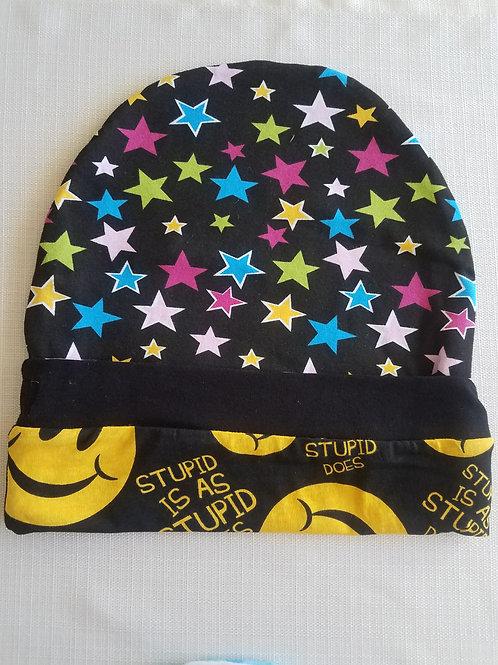 Stars & Smileys Reversible Adult Hat