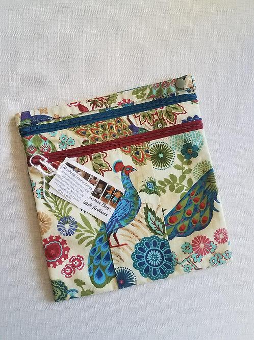 Peacocks 9x9 Wet/Dry Bag