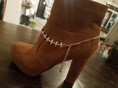 Boot Jewelry with Whale Tails