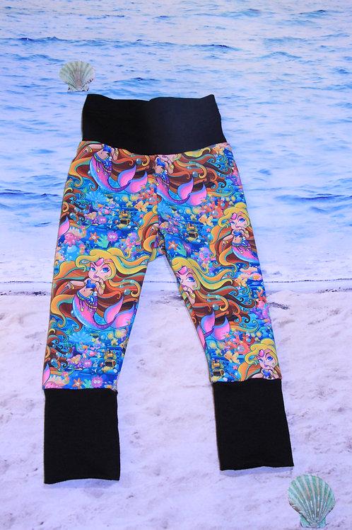 Sassy Mermaid Grow with Me Pants - 3/6 Mo to 18 Mo
