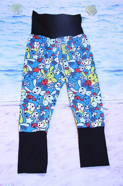 Bunnies Rock Grow with Me Pants - 12 Mo to 4T