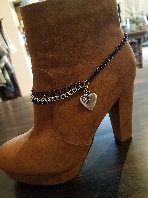 Black Beauty Boot Jewelry