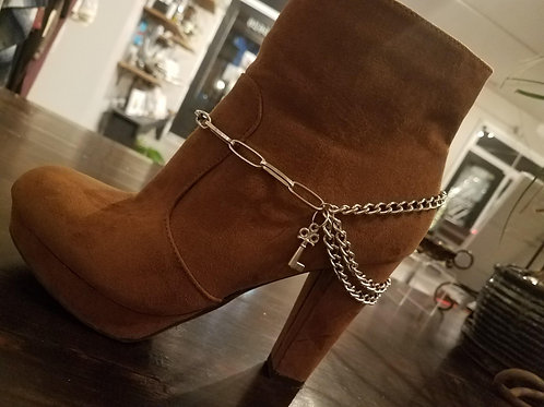 Boot Jewelry with Key Detail