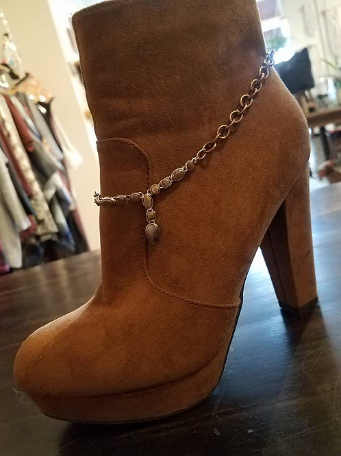 Delicate Copper Boot Jewelry