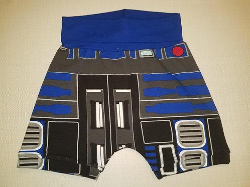 Dark R2D2 Shorts - 12 Mo to 4T
