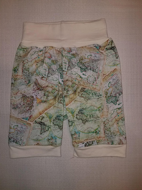 Maps Shorts - 12 Mo to 4T
