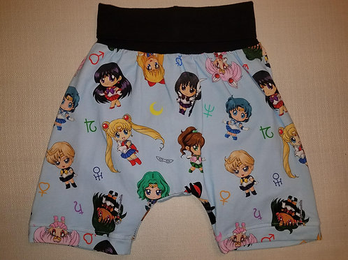 Sailor Moon Shorts - 2T to 6T