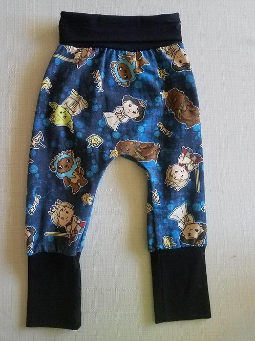 Star Wars Cuties Grow with me Pants - 3/6 Mo to 18 Mo