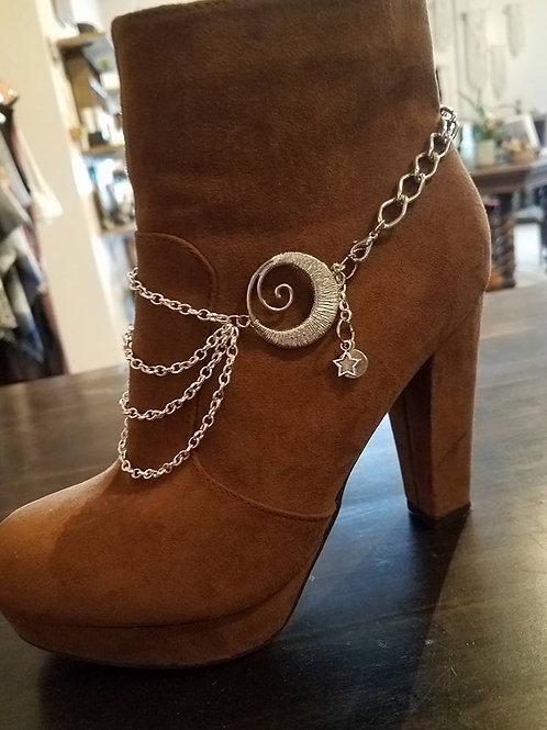 Life's Turn Boot Jewelry