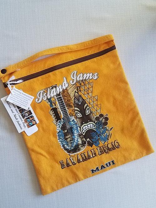 Yellow Maui 11x11 Wet/Dry Bag