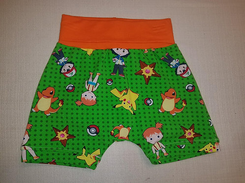 Pokemon Shorts - 12 Mo to 4T